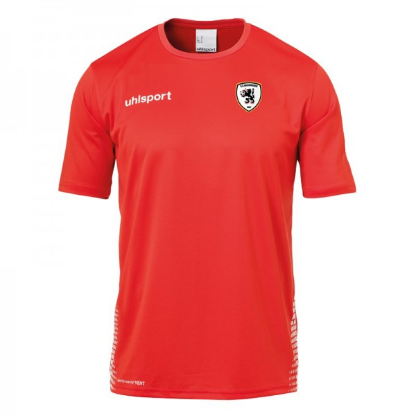 tshirt entrainement rouge