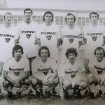 Le SC Hazebrouck en 1975 avec Alex Dupont