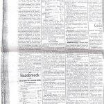 Le Cri des Flandres en 1913 annonce la 1ère rencontre officielle du SC Hazebrouck