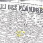 Le Cri des Flandres en Juin 1920