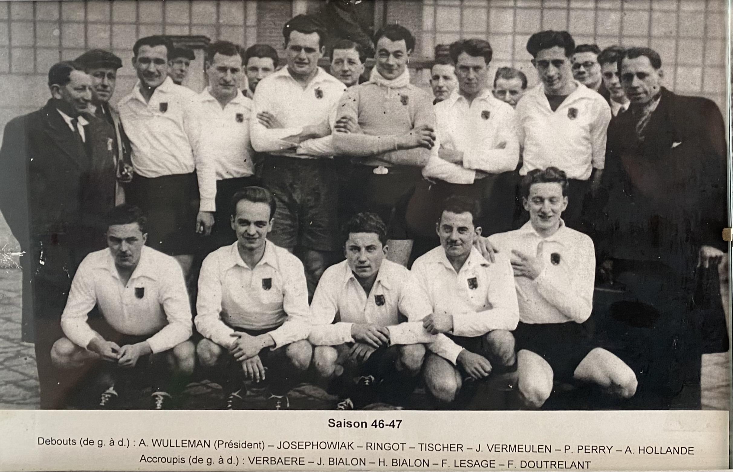 SC Hazebrouck en 1946 1947