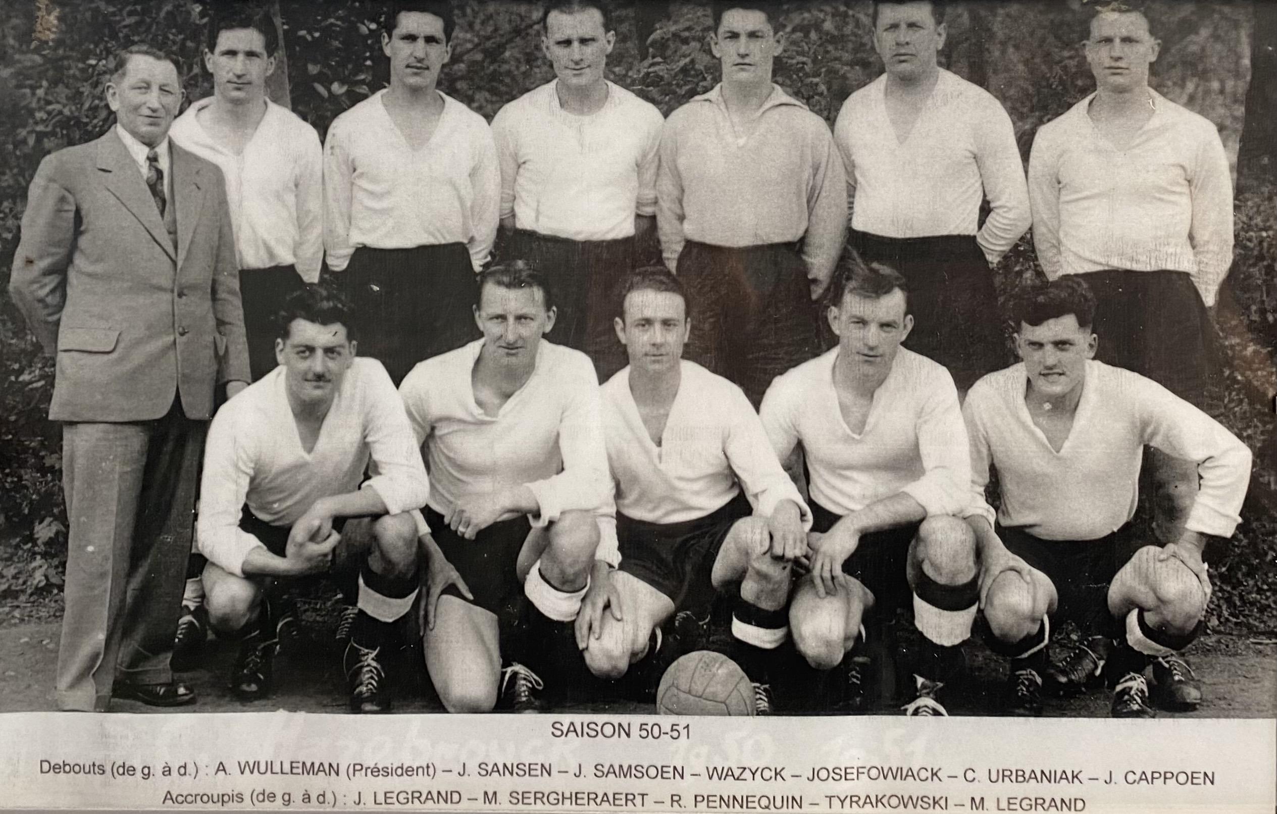 SC Hazebrouck en 1950 1951