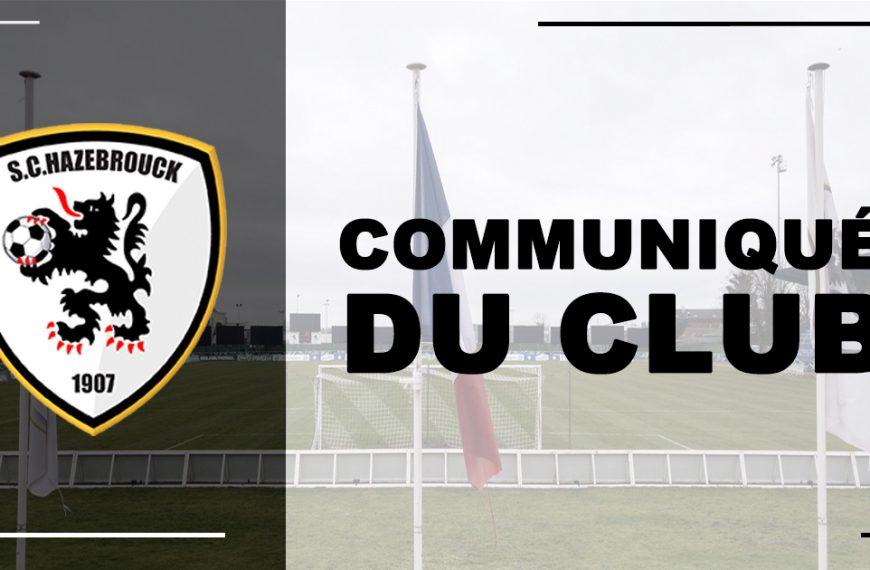 L'assemblée générale du club aura lieu le jeudi 21 octobre à 19h00