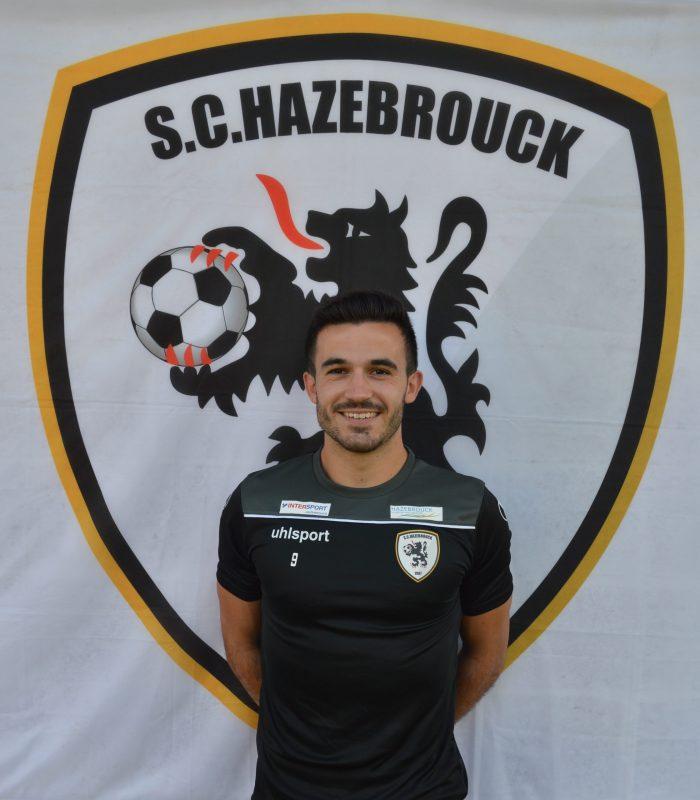 Adrien Desruelle Séniors SCH Hazebrouck SC Sporting