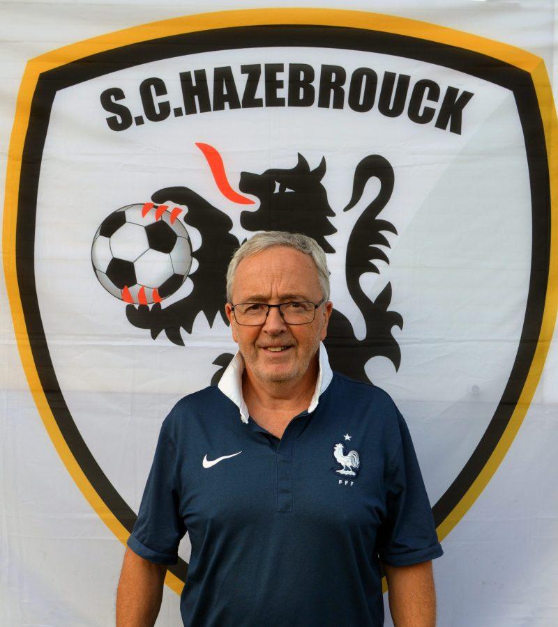 Alain Vilain SC Hazebrouck SCH secrétaire