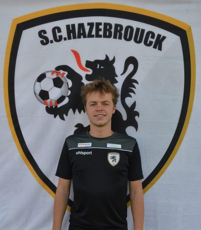 Alexis Engelaere Séniors SCH Hazebrouck SC Sporting