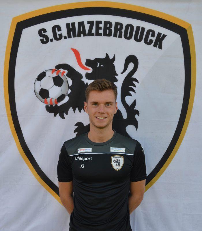 Alexy Jourdain Séniors SCH Hazebrouck SC Sporting