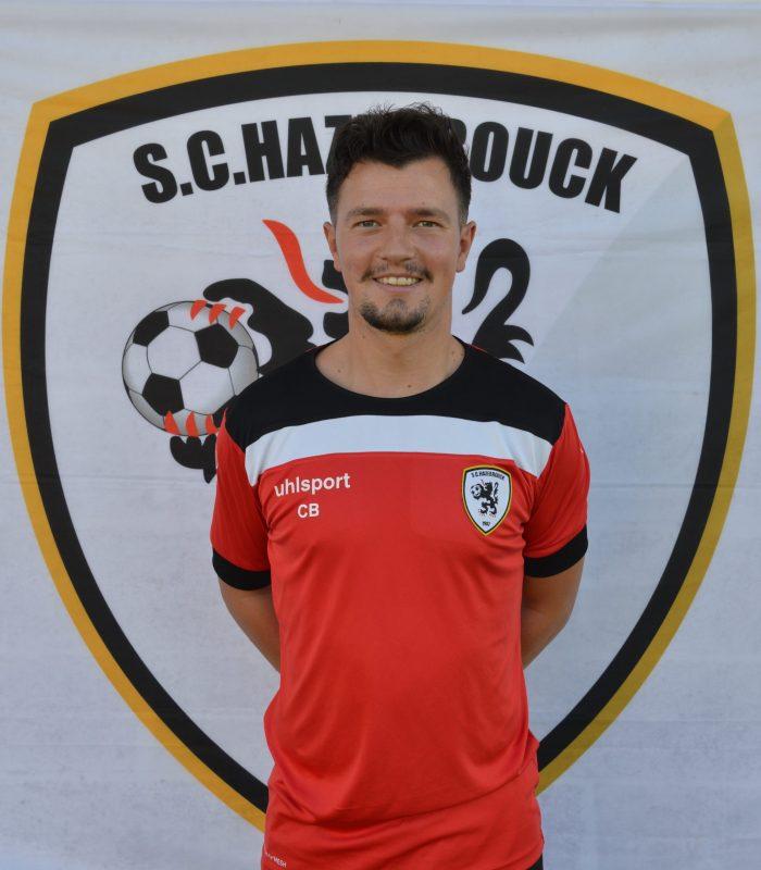 Clément Bossaert entraineur réserve Séniors SCH Hazebrouck SC Sporting
