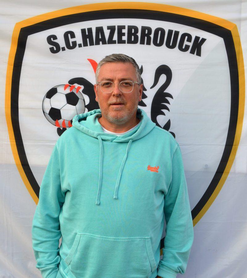 Franck Dubreu SC Hazebrouck SCH responsable Ecole de Foot