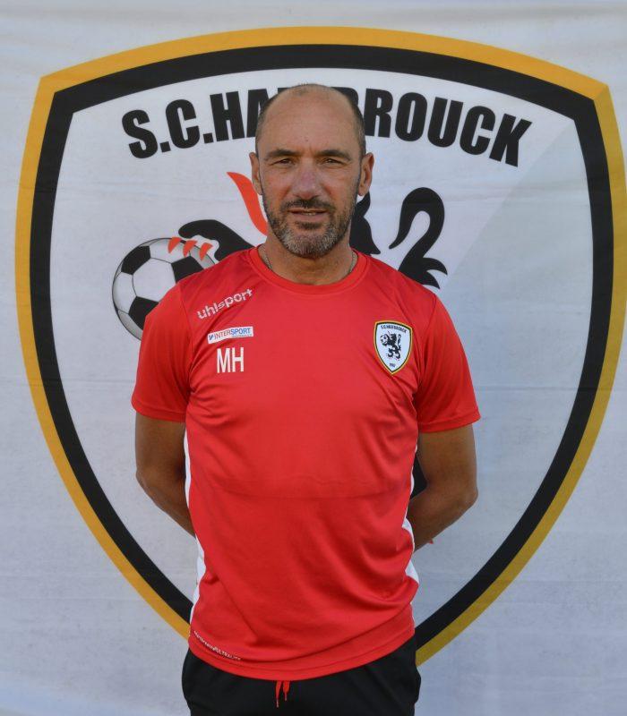 Malik Halouane Entraineur post formation Séniors SCH Hazebrouck SC Sporting