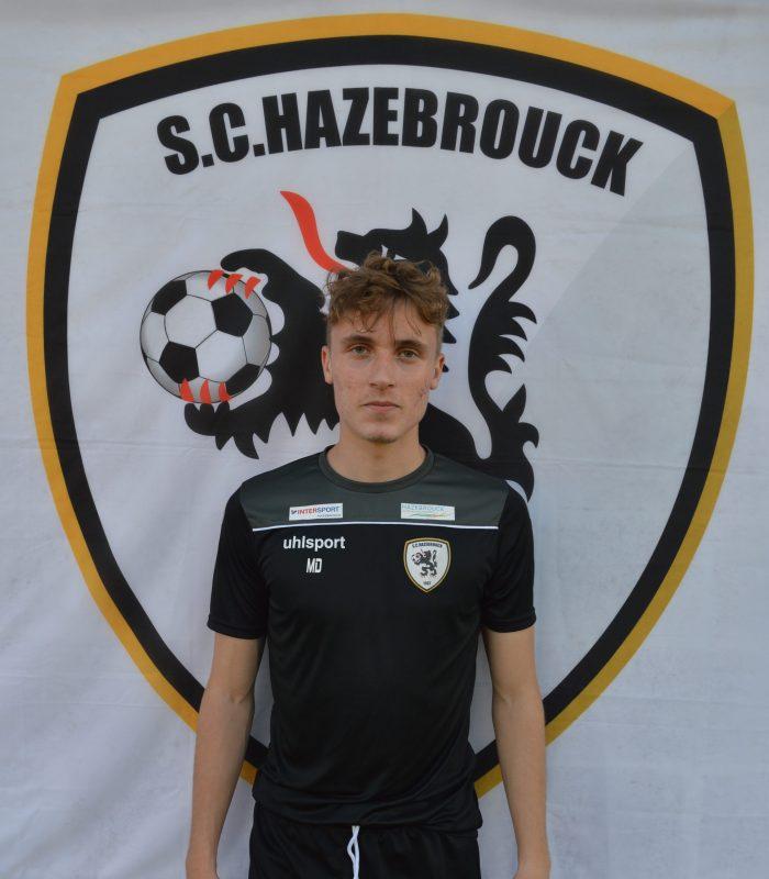 Mathys Delporte Séniors SCH Hazebrouck SC Sporting