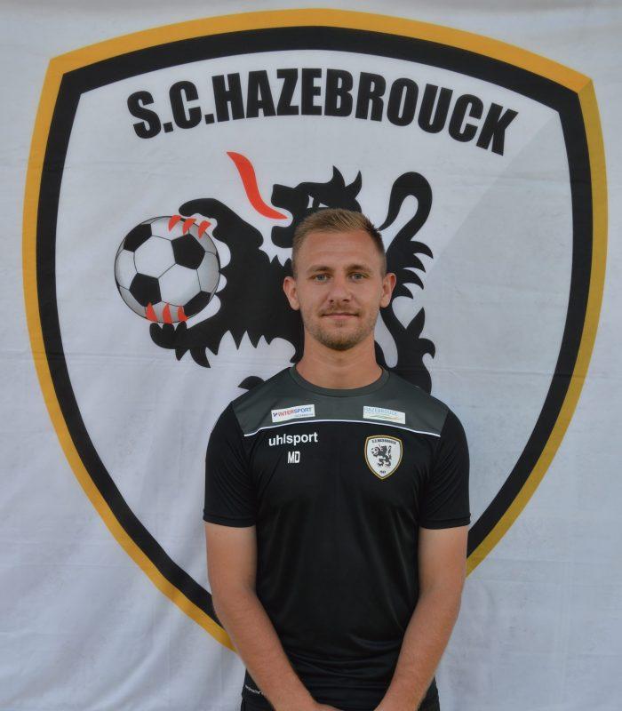 Matthieu Lechevalier Séniors SCH Hazebrouck SC Sporting
