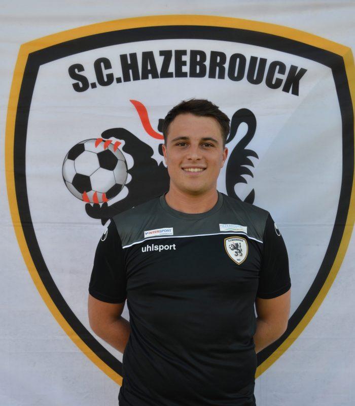 Paul Isenbrandt Séniors SCH Hazebrouck SC Sporting