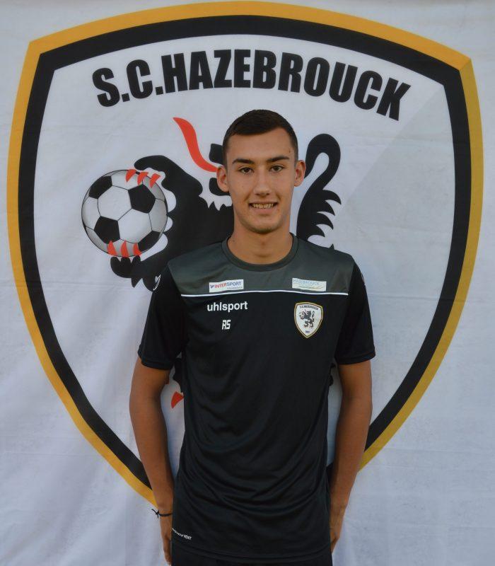 Romain Sannier Séniors SCH Hazebrouck SC Sporting