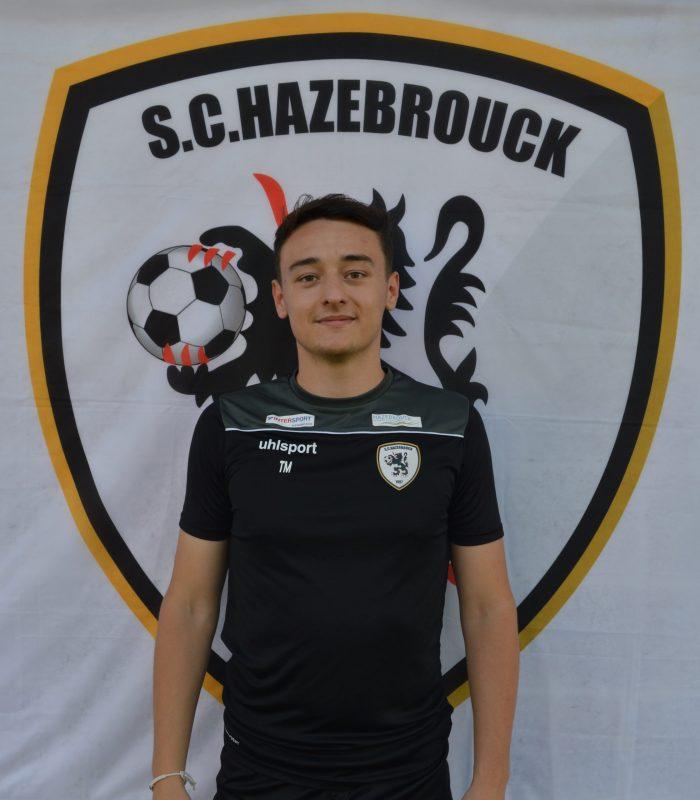 Théo Miserole Séniors SCH Hazebrouck SC Sporting