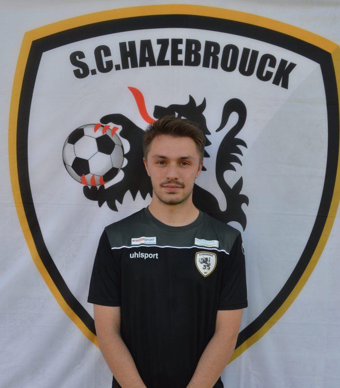 Thibault Castelain Séniors SCH Hazebrouck SC Sporting