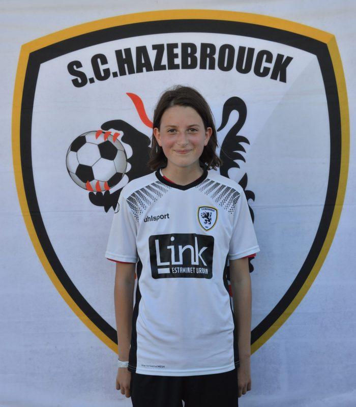 U13 Crepin Severine SCH SC Hazebrouck Sporting Club 2021