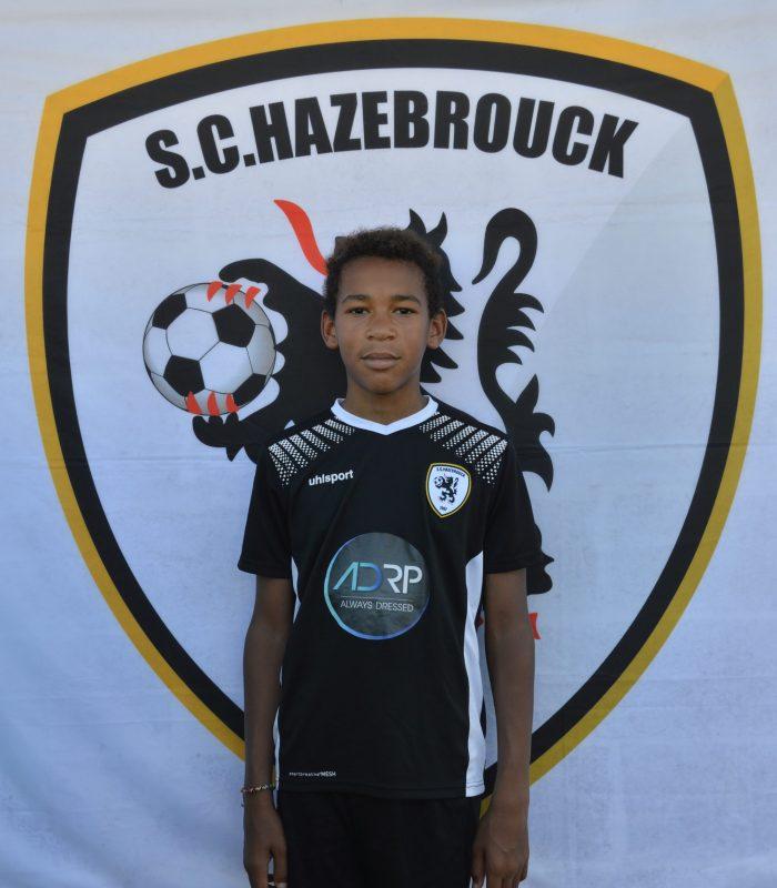 U13 Debuyser Yann SCH SC Hazebrouck Sporting Club 2021