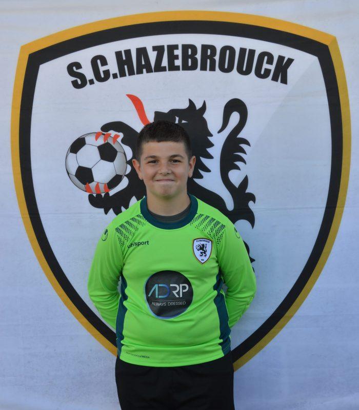 U13 Denys Yanis SCH SC Hazebrouck Sporting Club 2021