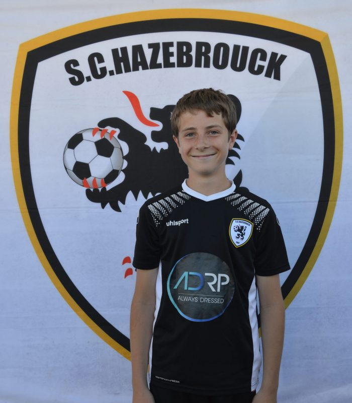U13 Deroo Tanguy SCH SC Hazebrouck Sporting Club 2021