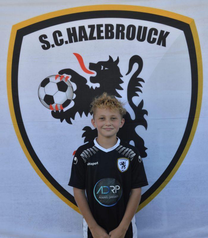 U13 Guejon Yanis SCH SC Hazebrouck Sporting Club 2021
