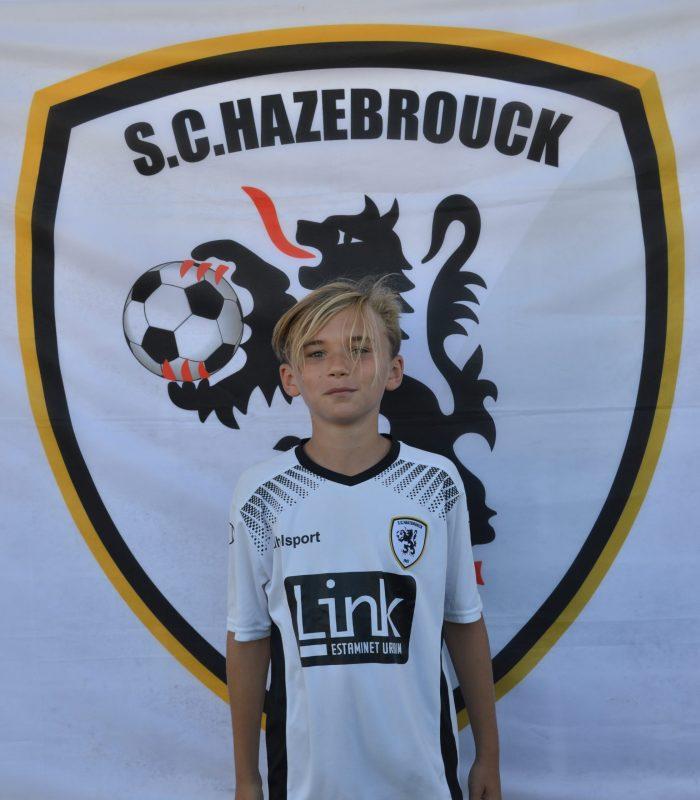 U13 Guylian Gouwy SCH SC Hazebrouck Sporting Club 2021