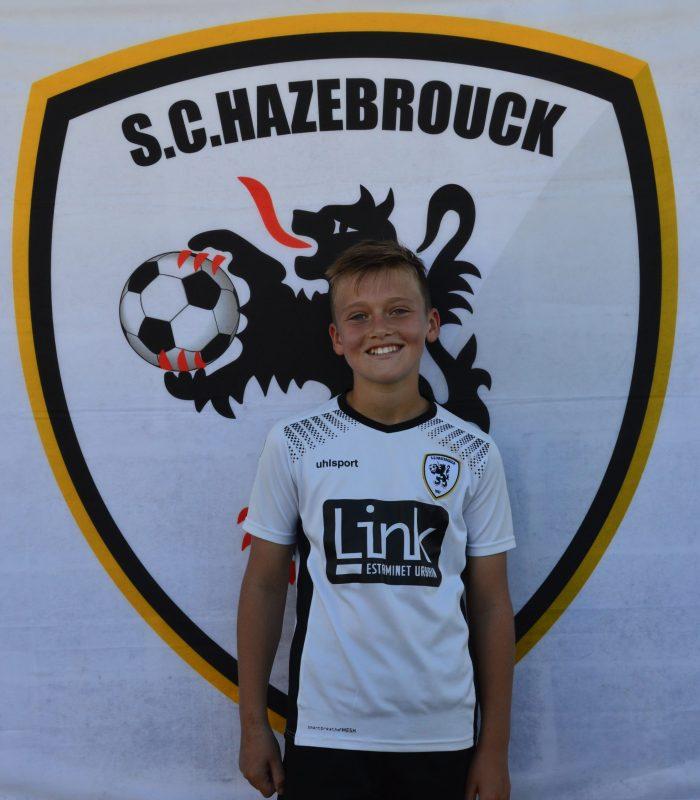U13 Léo Verbaere SCH SC Hazebrouck Sporting Club 2021
