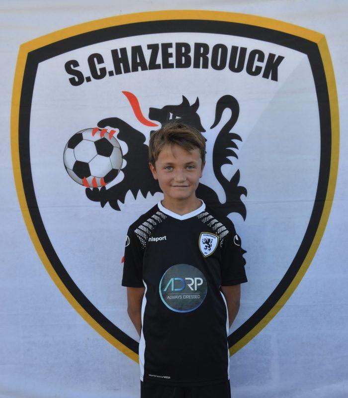 U13 Noe Lachevre SCH SC Hazebrouck Sporting Club 2021