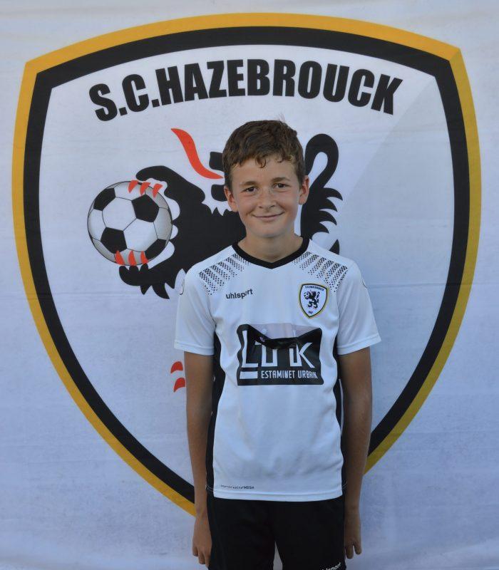 U13 Raphael Delepierre SCH SC Hazebrouck Sporting Club 2021