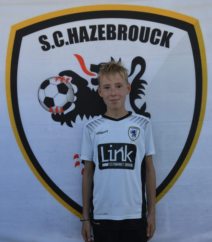 U13 Valentin Cabaret SCH SC Hazebrouck Sporting Club 2021