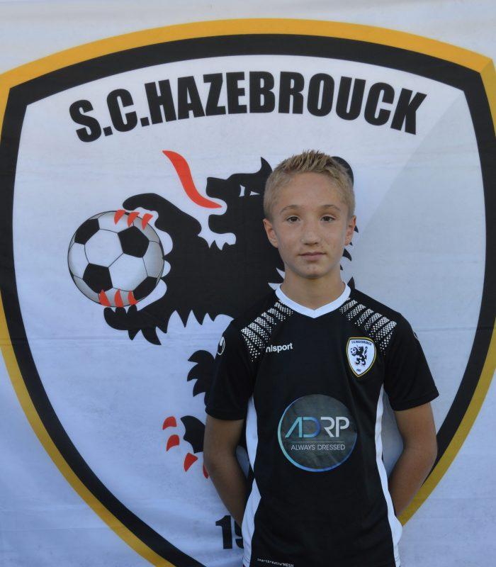 U13 Vercruysse Taho SCH SC Hazebrouck Sporting Club 2021