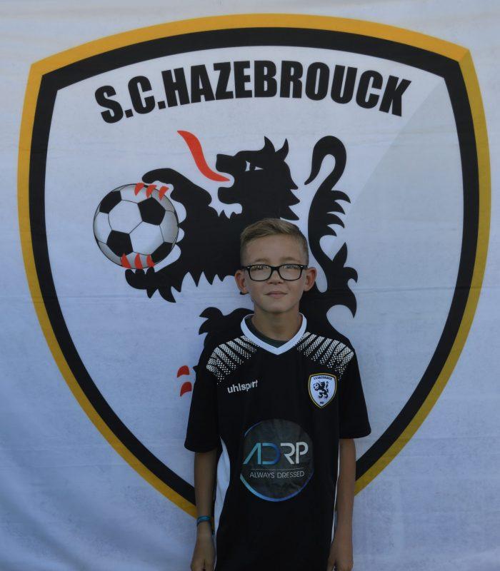 U13 Verhaeghe Erwan SCH SC Hazebrouck Sporting Club 2021