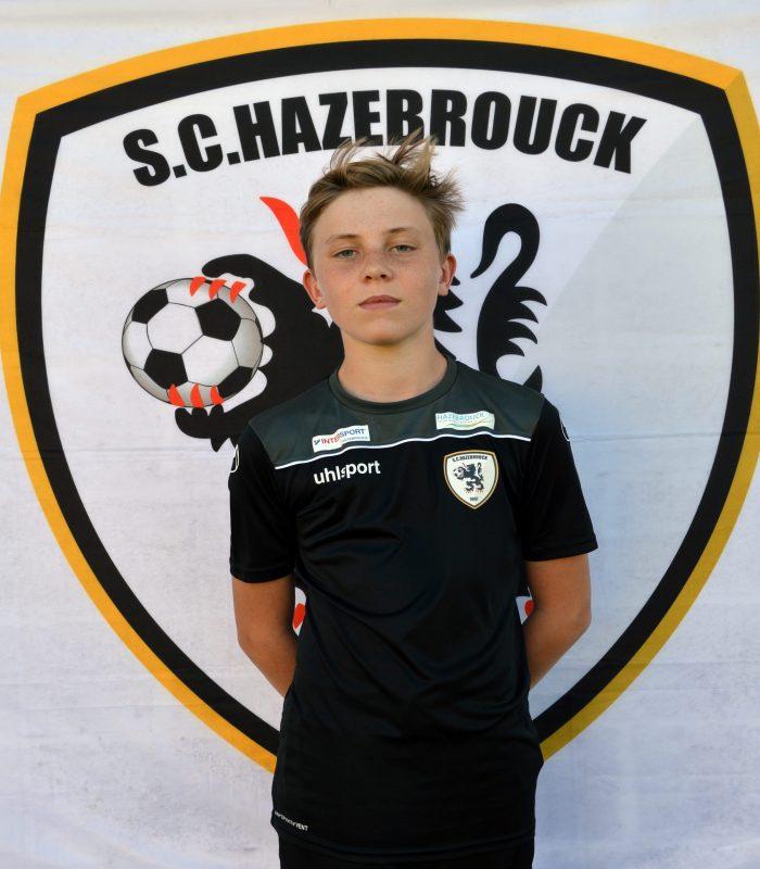 U14 Axel Courdain SCH Hazebrouck SC Sporting