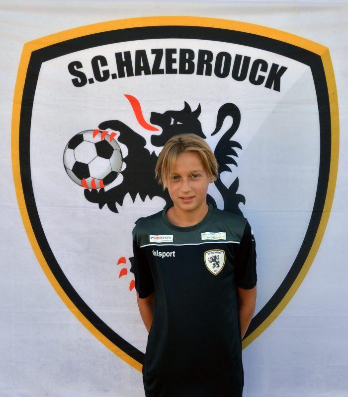 U14 Erwan Mantel SCH Hazebrouck SC Sporting