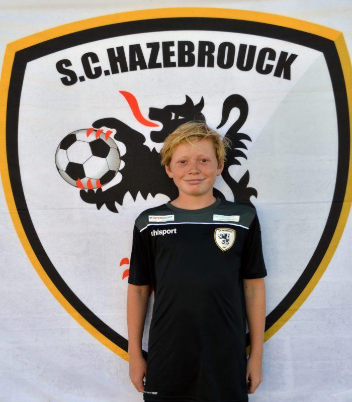 U14 Gabriel Jochmans SCH Hazebrouck SC Sporting
