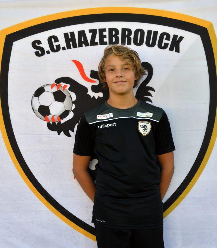 U14 Gaspard Vanhoutte SCH Hazebrouck SC Sporting