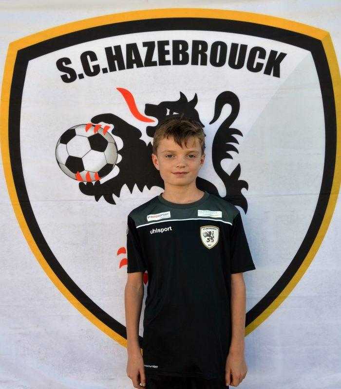U14 Hugo Debommy SCH Hazebrouck SC Sporting