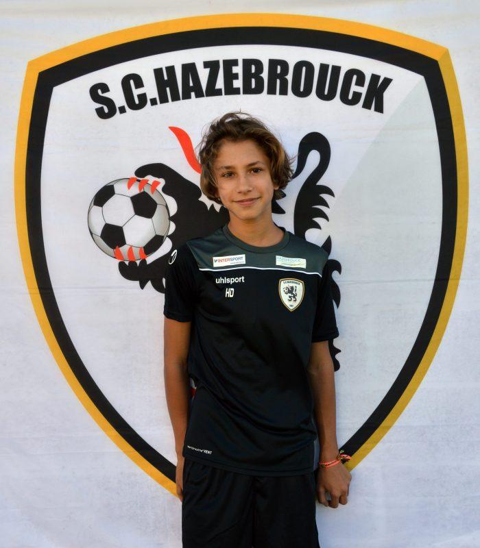 U14 Hugo Decanter SCH Hazebrouck SC Sporting