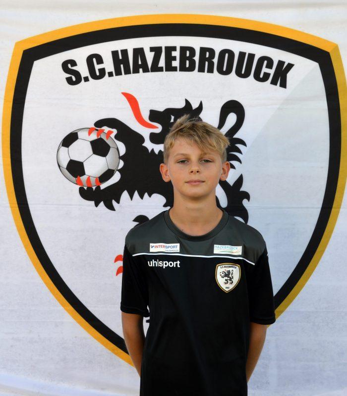 U14 Louis Petitprez SCH Hazebrouck SC Sporting