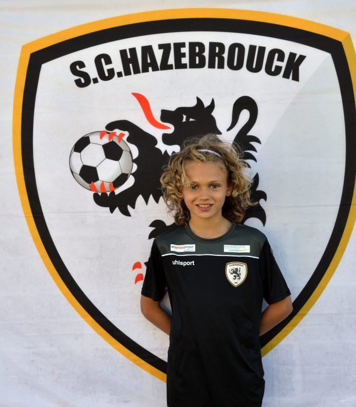 U14 Louka Cornet SCH Hazebrouck SC Sporting