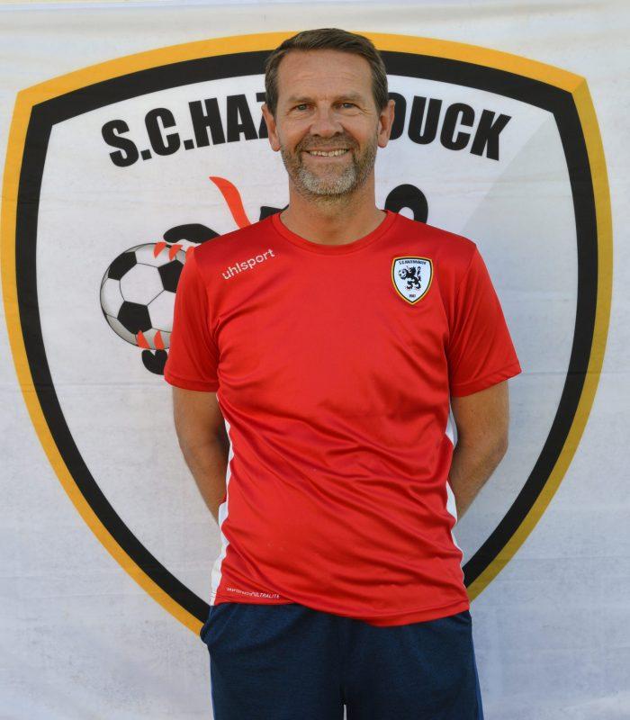 U14 Ludovic Clusman Educateur SCH Hazebrouck SC Sporting