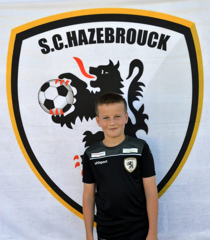 U14 Noah Magrez SCH Hazebrouck SC Sporting