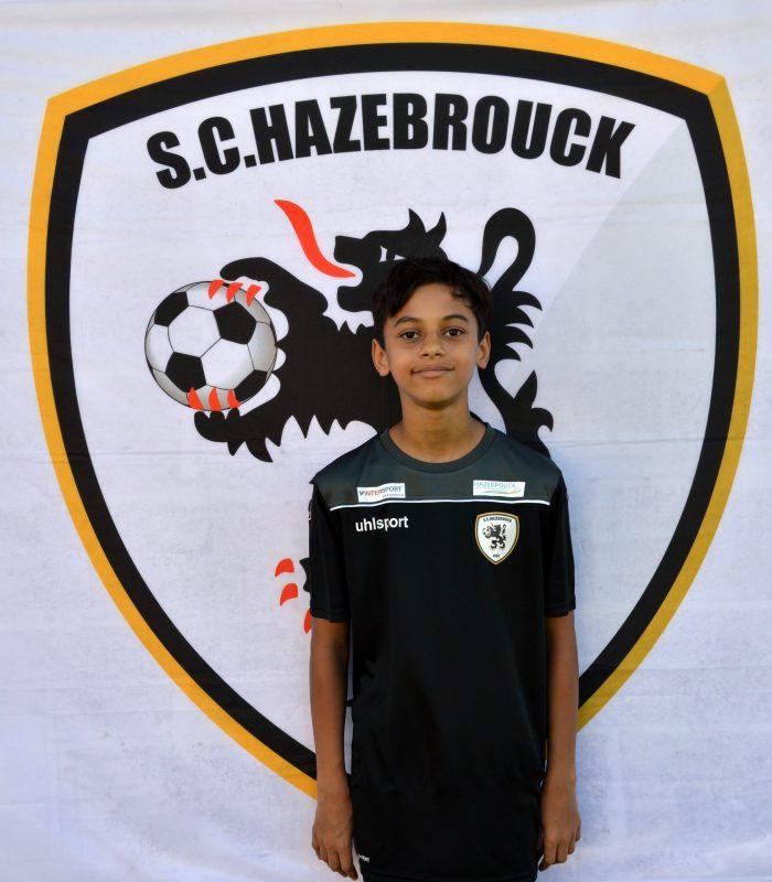 U14 Nohlan Ange Nelcha SCH Hazebrouck SC Sporting