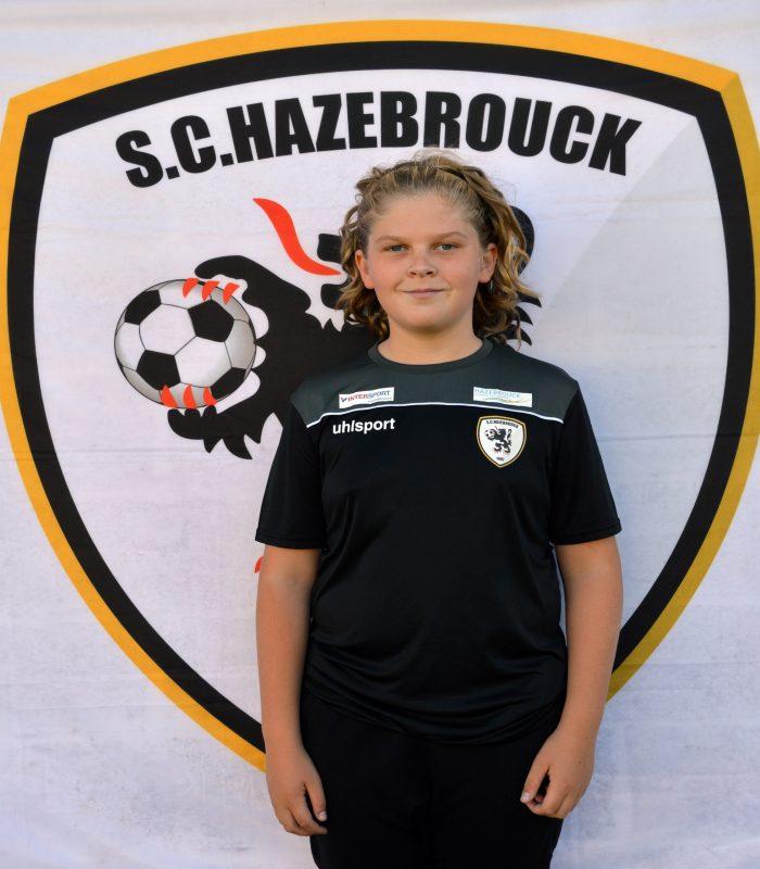 U14 Raphael Langlet SCH Hazebrouck SC Sporting
