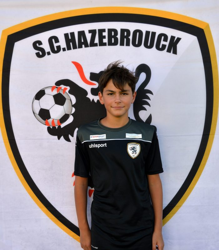 U14 Terence Waymel SCH Hazebrouck SC Sporting