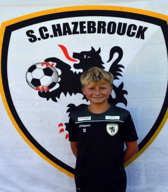 U14 Tom Bart SCH Hazebrouck SC Sporting