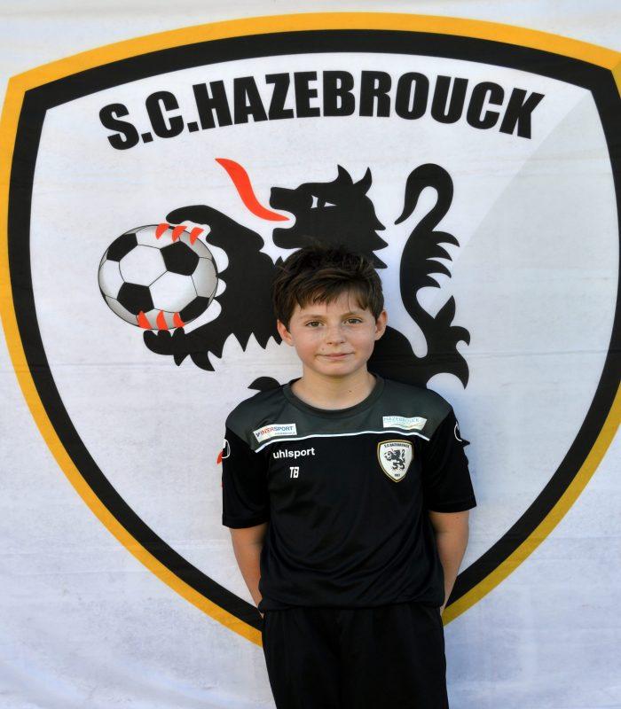 U14 Tom Bequart SCH Hazebrouck SC Sporting