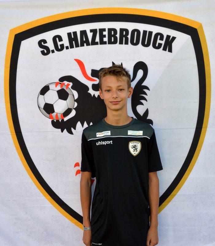 U14 Yoni Schoemaecker SCH Hazebrouck SC Sporting