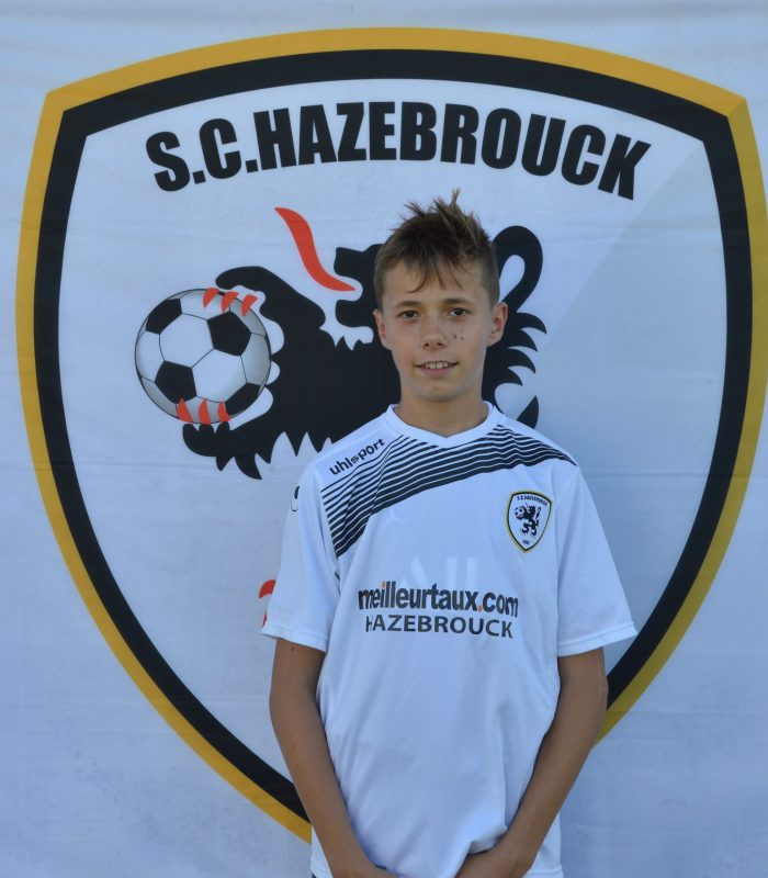 U15 Alois Alips SCH Hazebrouck SC Sporting