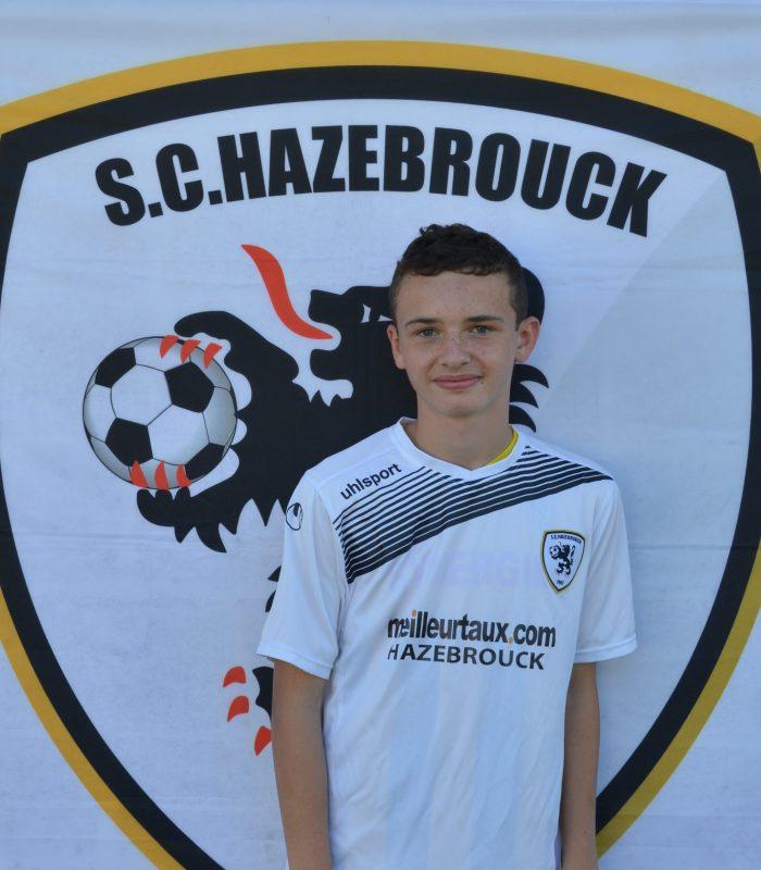 U15 Corentin Corteyn SCH Hazebrouck SC Sporting